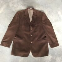 Lord & Taylor Fifth Avenue Mens Brown Blazer Jacket Sport Coat (A13) 42R 42 R