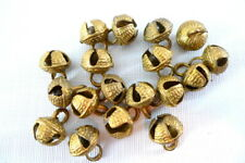 18 Brass Jingle Bells Decorative from India Dancing Costumes Crafts