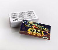 1.000 Visitenkarten, Taxi, Transport, Premiumqualität, drucken lassen, Druck