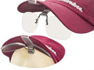 Snowbee ® Cap-Peak Clip-On Magnifier Glasses +2.5 Magnification 18063*2021