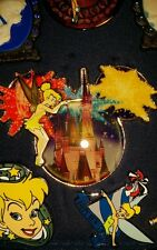 WDW Disney Dreams Jumbo Pin - Tinker Bell Cinderella Castle Mickey Icon LE 1000