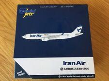 IRAN AIR Airbus A330-200 Diecast Model 1:400 Gemini Jets New GJIRA1652 New