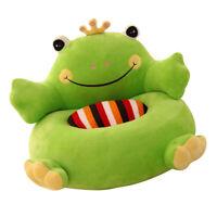 Cartoon Tier Kinder Sitz Sofa Bezug Baby Stuhl Sitzsack   (Apfelgrün)