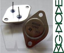 2 x TIP640 TI 10A NPN Silicon Darlington Transistor, 60V, 5W, TO-3