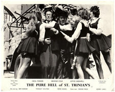 Pure Hell of St Trinian's original Lobby Card Cecil Parker school girls kissing