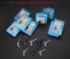 (8PCS)1/6 soldier weapon accessory mini pistol model