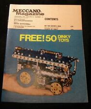 Meccano Magazine 1970 December Train Cars Forest Railway Ship fouling