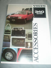 Volvo 340 Series Accessories range brochure 1981