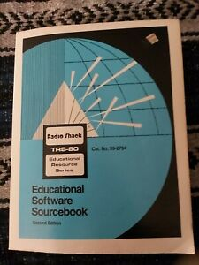 Radio shack trs-80 Educational Software Sourcebook Second Edition