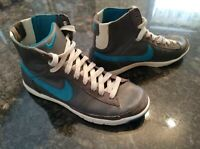 Nike 313722-033 Women's Blazer Mid discontinued model in Gray and teal Size 7