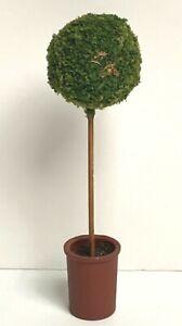 1:12 OUTDOOR TOPIARY TREE VINTAGE DOLLHOUSE MINIATURE