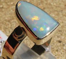 Dark Opal 3.2 Karat 950er Silberring Größe 18,1 mm