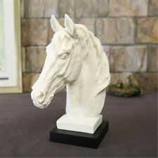 Horse Head Bust Statue Ornament Sculpture Figurine Home Office Display  ! **