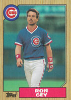 1987 Topps #767 Ron Cey Chicago Cubs Baseball Card