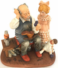 """Norman Rockwell First Issue Limited Edition """"The Cobbler"""" 5.25x5.25x3.25"""" 1 Lb."""