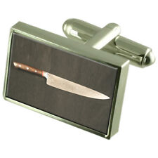 Cuchillo De Chef Plata Esterlina 925 Gemelos en Caja