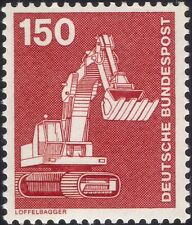 Germany 1975 Industry/Technology/Tractors/Shovels/Transport 1v (n29148q)