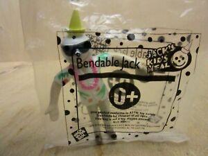 Sealed 1999 Jack in the Box Bendable Jack Hawaii Hawaiian Shirt Toy Doll