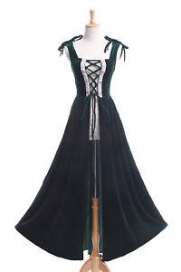 Renaissance Medieval Irish Women Costume Over Dress Peasant Wench Tavern Pirate