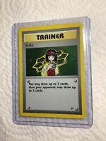 ERIKA - 16/132 - Gym Heroes - Holo - Pokemon Card - EXC/NEAR MINT