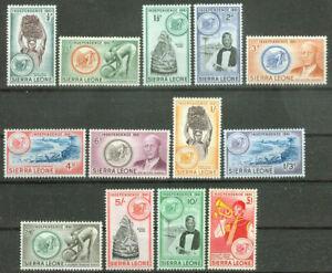 Sierra Leone 1961, Independence Mi.# 189-201, MvLH