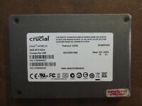 "Crucial CT064M4SSD1 FW Rev:000F 64gb 2.5"" Sata SSD"