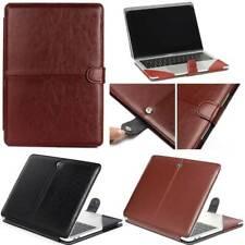 F MacBook Pro 13 A2289 A1706 A1708 A1989 A2159 Leather Premium Sleeve Cover Case