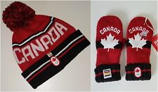Winter Olympics Canada Children's Scarf & Mitten SET LOT HBC PyeongChang NEW