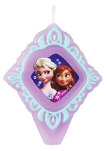 Disney FROZEN Elsa and Anna Party Cake Candle NEW - Birthday, Princess Parties