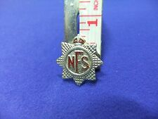 vtg badge nfs national fire service ww2 home front war effort defence air raid