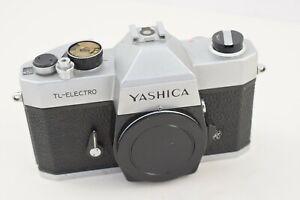 Yashica TL-Electro 35mm Mechanical SLR Camera Body & Dust Cap  #W170-9