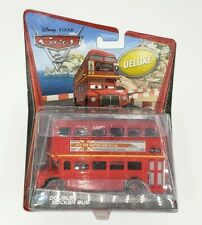 Disney Pixar CARS 2 Diecast Double Decker Bus (#4) DELUXE (Brand New)