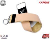 Professional New Leather Strop Strap Belt Barber Straight Edge Razor Sharpener