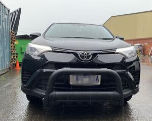 Sandy Black Steel After market Nudge Bar for Toyota RAV4 FROM OCT 2015 - 2018
