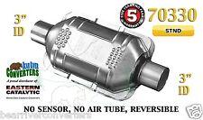 "Eastern Universal Catalytic Converter Standard Catalyst 3"" Pipe 10"" Body 70330"
