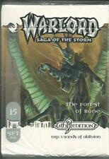 WARLORD SAGA OF THE STORM (WARLORD CCG) : THE FOREST OF BONE DECK (SOO 4TH ED)