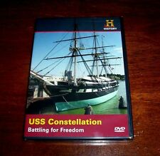 USS CONSTELLATION: BATTLING FOR FREEDOM (HISTORY CHANNEL) NEW AND SEALED