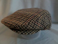 GENTS COUTRY TWEED 1900,S 1920,S  VICTORIAN EDWARDIAN PEAKY BLINDERS FLAT CAP