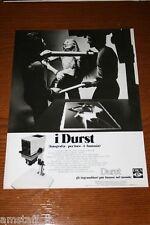 AV21=1972=DURST INGRANDITORE PROIETTORE=PUBBLICITA'=ADVERTISING=WERBUNG=