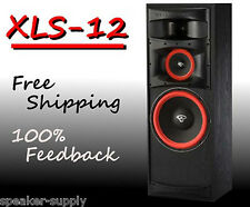 "Cerwin-Vega XLS-12 12"" 3-way Floor Tower Brand NEW! Extreme Audio Tower Sub Bass"