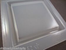 """Resin Mold Square Base 4"""" 11 cm 1/2"""" Deep Stand Display Plaque Molds"""
