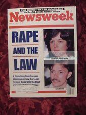 NEWSWEEK May 20 1985 Rape Law Ronald Reagan Josef Mengele Hollywood Producers