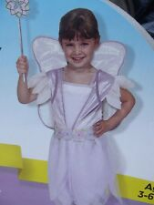 Halloween Costume - Fairy Role Play Set Lavender Age 3-6 Years NWT