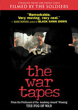 The War Tapes (DVD, 2007)  from front line soldiers-  IRAQ war   Brand new