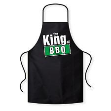 King of BBQ | Queens | Fun | BBQ | Grillschürze / Kochschürze / Latzschürze