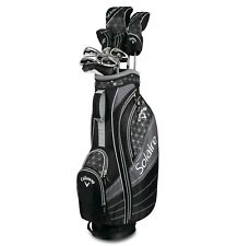CALLAWAY WOMENS SOLAIRE BLACK PETITE 11 PIECE COMPLETE SET - NEW