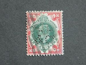 (1) used Great Britain stamp Scott# 138a-King Edward Vll-We combine shipping