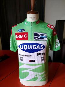 Race-worn '07 Driedaagse De Panne vintage cycling jersey maglia ciclismo Paolini