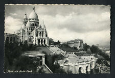 Posted 1953: View of the Sacred-Heart Basilic, Paris