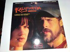 KALIFORNIA Movie Laserdisc - BRAD PITT & JULIETTE LEWIS